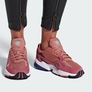 Adidas Falcon Shoes Raw Pink Women's